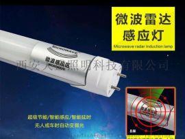 陕西西安地下车库LED雷达感应灯|LED节能灯管