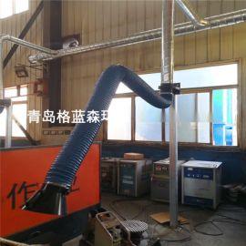 威海焊接车间烟尘集中除尘系统
