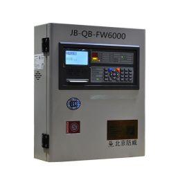 防威智能火灾报**主机FW6000 液晶显示操作