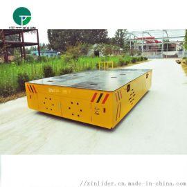 手动轨道平板车平板运输车胶轮现货供应