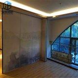 辦公室中式屏風隔斷鋁合金隔牆銷售