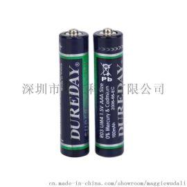 华荣七号碳性电池蜡烛灯AAA电池R03P1.5V