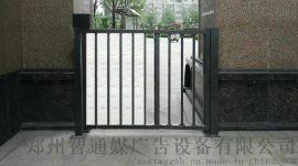 开封小区人行道90度平开栅栏门