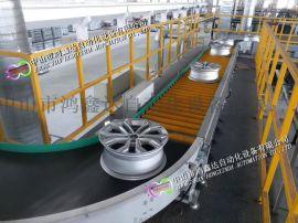 广州番禺南沙黄埔包胶辊筒线自动滚筒流水线