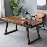 现代休闲家用书桌写字台 北欧简约全实木办公桌创意电脑桌可定制