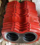 廠家直銷大象泵車配件250眼鏡板切割環