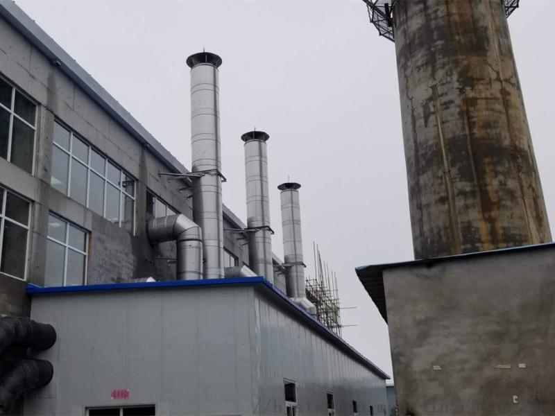 双层不锈钢保温烟囱,降氮锅炉双层不锈钢保温烟囱,双层不锈钢保温烟囱价格