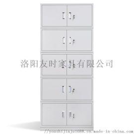 洛阳友时办公室学校铁皮分五节文件储物柜