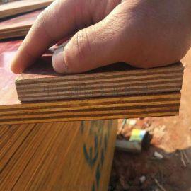 红模板  防水建筑模板规格1830*915