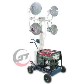 移动应急升降灯现货供应 小型手推式工程应急照明车