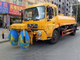 天锦高速护栏清洗车大型护栏清洗车