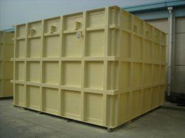 方型不锈钢水箱 环保沉淀水箱 玻璃钢供水水箱