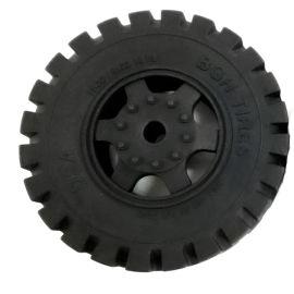 儿童玩具橡胶轮胎 黑色轮胎橡胶轮 玩具轮胎