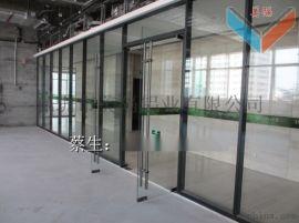 深圳玻璃隔墙 深圳办公室百叶隔墙厂家