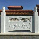 草白玉栏杆定做厂家-曲阳县聚隆园林雕塑