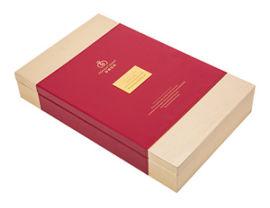厂家直销化妆品特色皮盒包装盒