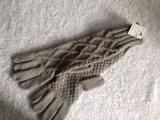 时尚流行女式新式多种花型长筒针织手套