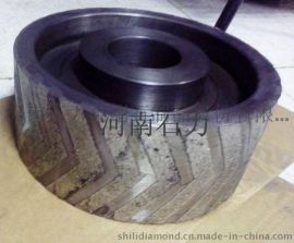 供應河南石力 80×15×20修圓弧用的金剛石砂輪