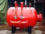 拖车式移动式泡沫灭火装置 PY半固定式泡沫罐