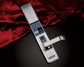 电子密码指纹摇控开锁防盗门专用锁
