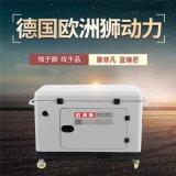 雙電源切換靜音12千瓦無刷柴油發電機