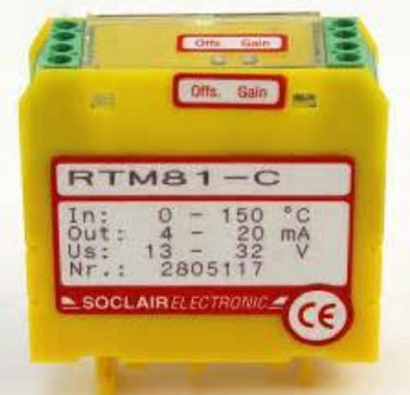 Soclair Electronic熱電偶COM90-2 RTM 70/71