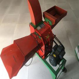 顺阳--家用小型饲料粉碎机 青贮铡草粉碎揉丝机 多功能秸秆粉碎机