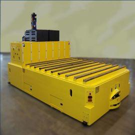 无人搬运车工厂物流台车配送自动二维码智能运输车机器人agv小车