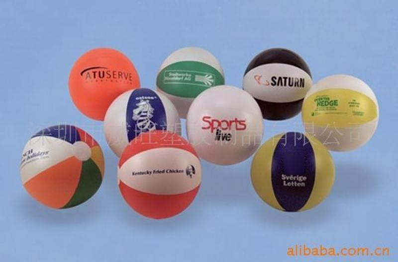 批发热销PVC充气球,沙滩球,广告球