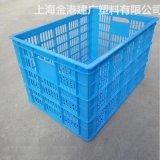 廠家直銷 塑料週轉筐 箱640*440*400服裝週轉筐 塑料物流週轉箱