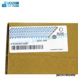 BOURNS(伯恩斯)微调电位器3313J-1-205E精密电位器精密