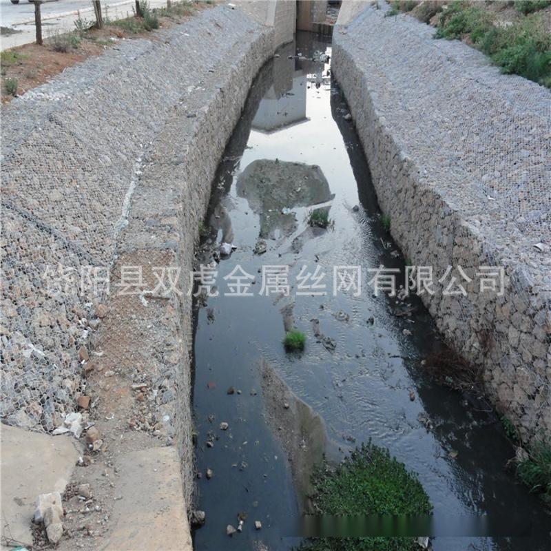 供应电镀锌格宾网  河道治理石笼网  绿滨垫铁丝网