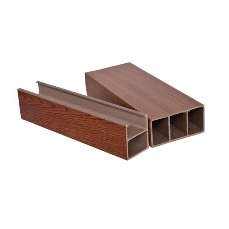 鋁方通工程裝飾木紋鋁方通50底*100高 1.5厚