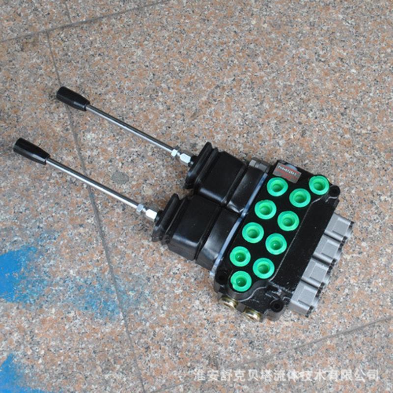 ZT-L12E-4OT-一控二操作整体多路阀