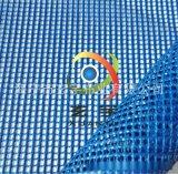 1000D包裝網格布 網眼布 浸膠防炎防風彩旗箱包網,PVC網格布