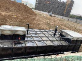 吉林通化抗浮地埋式箱泵一体化 抗浮式消防供水设备