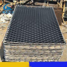 国凯丝网钢板网厂 钢芭片 菱形铁丝网