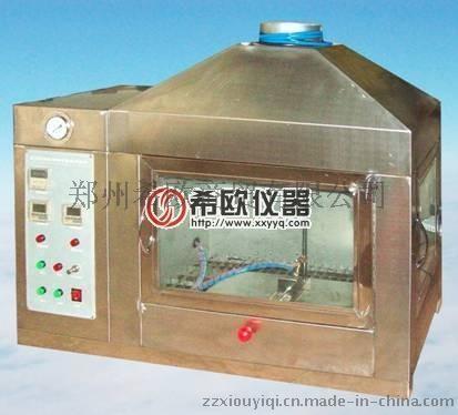 郑州燃烧试验机厂家供应XU8226建筑材料可燃性试验机