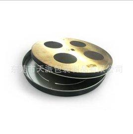 圆形碟片包装铁盒创意DVD包装铁盒