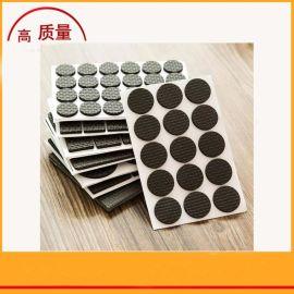 厂家直销黑色方形圆形耐高温滑防震硅胶脚垫  深圳自粘硅胶垫厂家