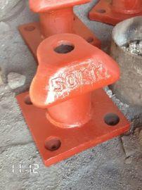 专业生产铸铁50KN船用配件系船柱