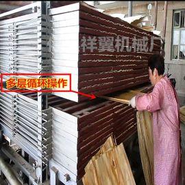 杨木板坯烘干机循环式操作