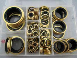 大量生产黄铜 M22 丁腈橡胶组合垫圈