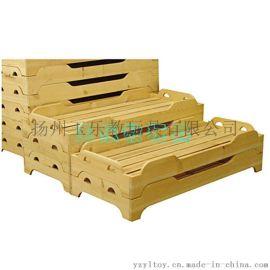 幼儿园塑料床厂家 幼儿园塑料木板床价格 幼儿园  床批发