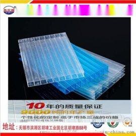 宝鸡供应PC中空阳光板透明阳光板应用于温室大棚