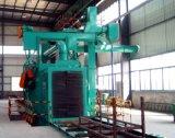 H型鋼通過式自動清理拋丸機 大型鋼材除鏽拋丸清理機