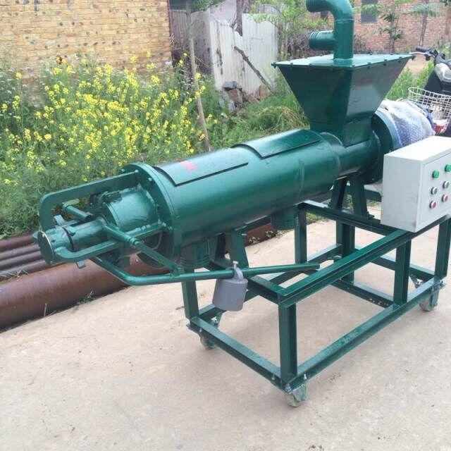 粪便清理的好设备羊粪脱水机 **益的羊粪处理设备