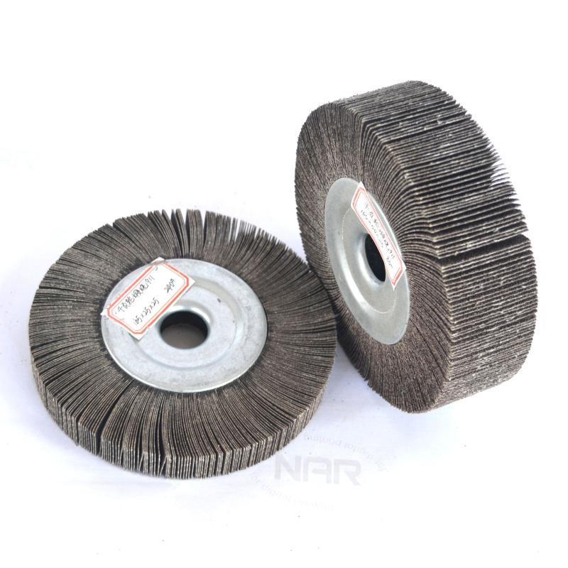 【千葉輪】廠家直銷千頁輪100不鏽鋼拋光打磨砂布千葉輪