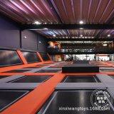 浙江厂家大型超级网红蹦床公园设施 儿童游乐设备 荧光面蹦床乐园