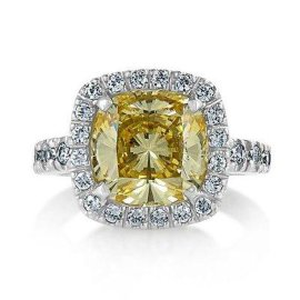 18K金钻石戒指空托加工 黄金饰品加工厂 广州正东珠宝 结婚戒指加工定制 高端珠宝首饰设计